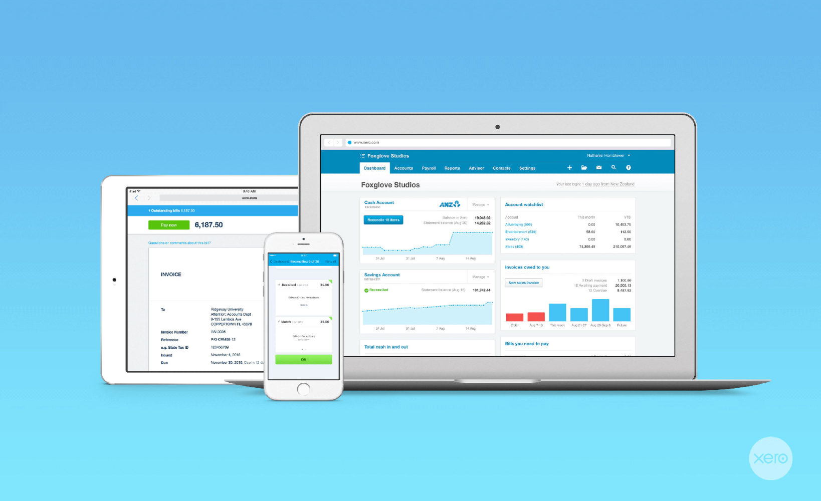 Xero-in-the-cloud